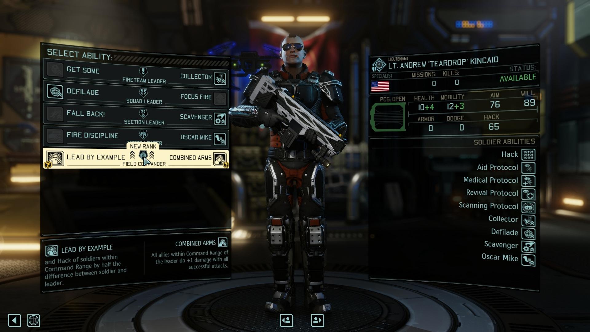 """Leader Pack"" mod für XCOM2"