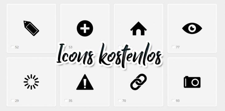 Top 5 Webseiten für kostenlose Icons