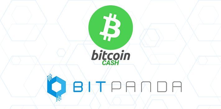 Bitcoin Cash Integration auf Bitpanda
