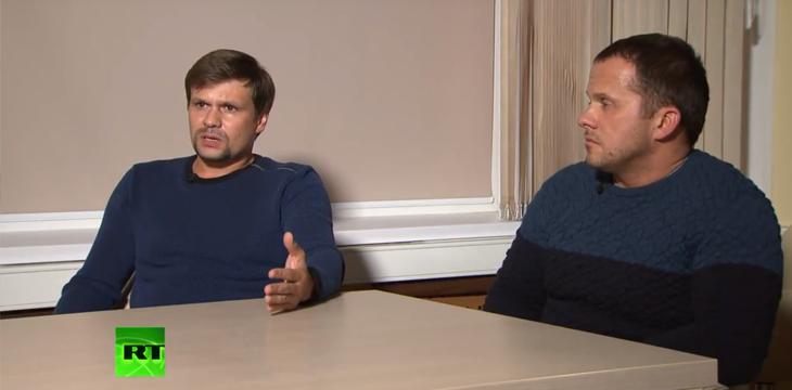 Skripal Attentäter im Interview